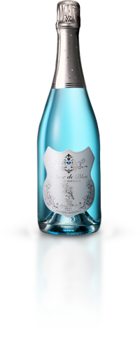 Blanc de Bleu bottle